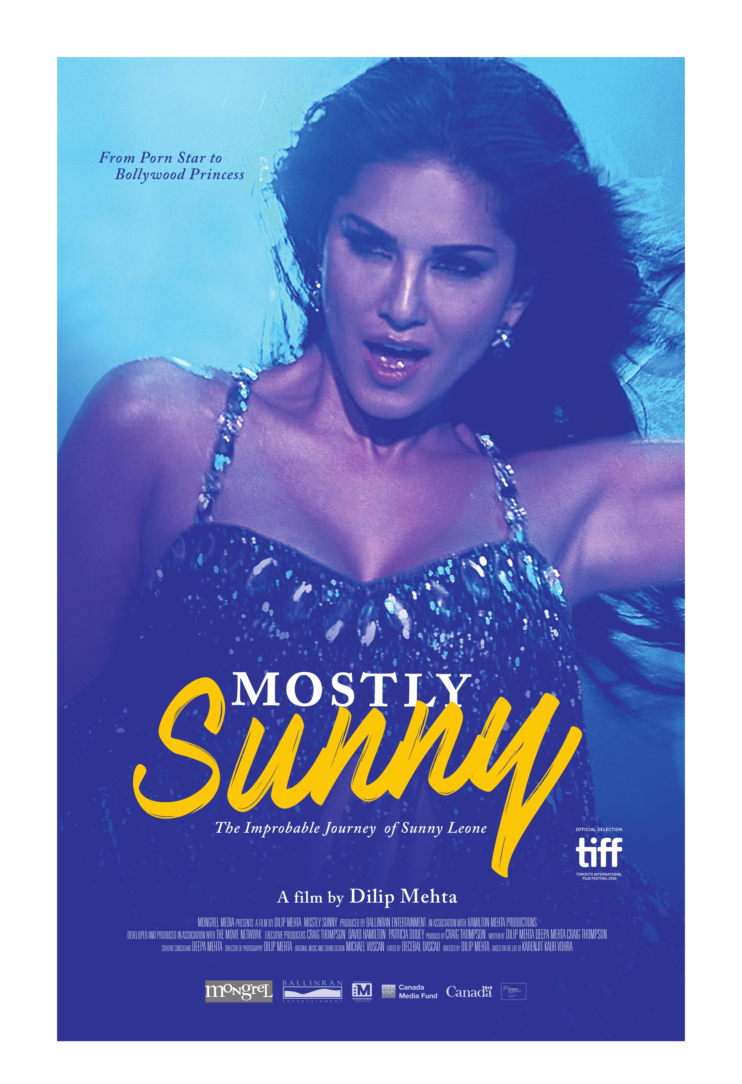 Mostly Sunny 13x19 Hallway Poster 1